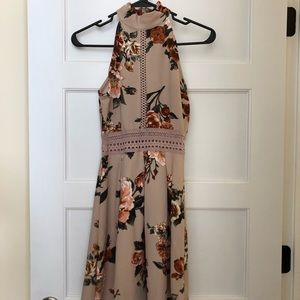 BNWT Francescas Floral Halter Dress